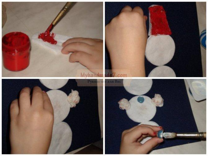 Cнеговик своими руками — 11 мастер классов поделок для садика