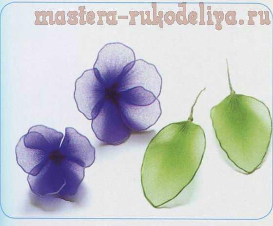 Как сделать цветы из ткани – 4 мастер-класса для начинающих
