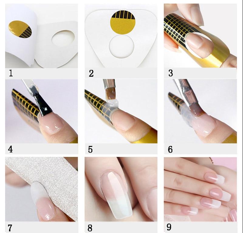 Наращивание ногтей акрилом для начинающих пошагово видео