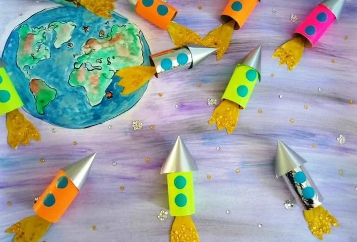 Как сделать ракету из картона: поэтапный мастер-класс, шаблоны, макеты