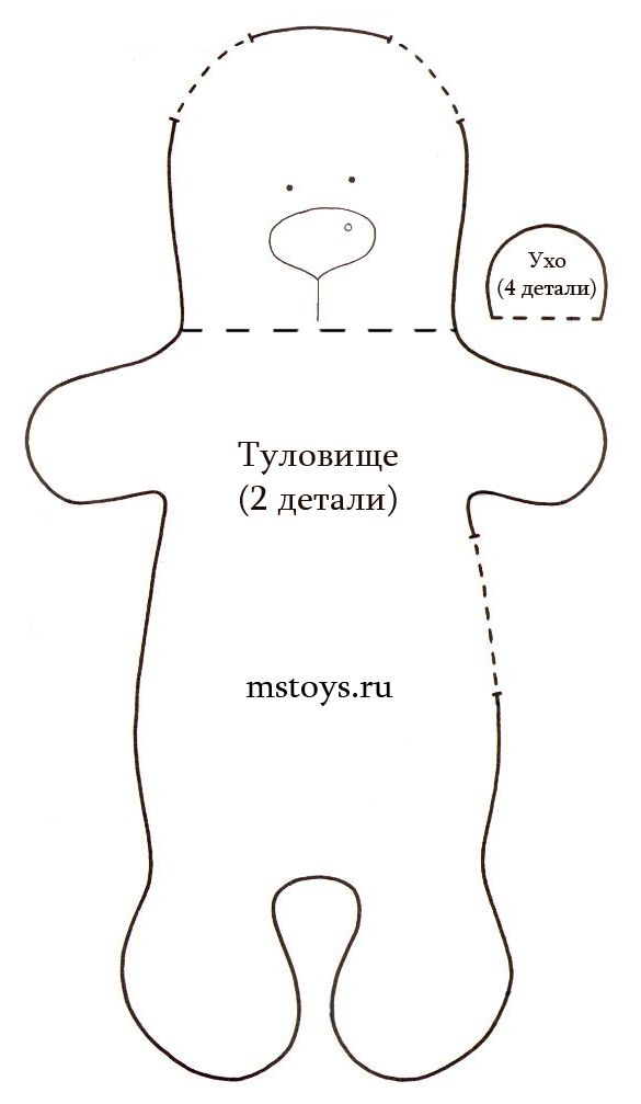 Мишка тильда крючком: мастер-класс по вязанию медвежонка с подробным описанием