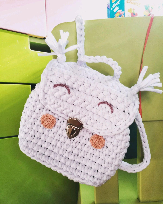 . детская сумочка - кармашек крючком - вязание - страна мам