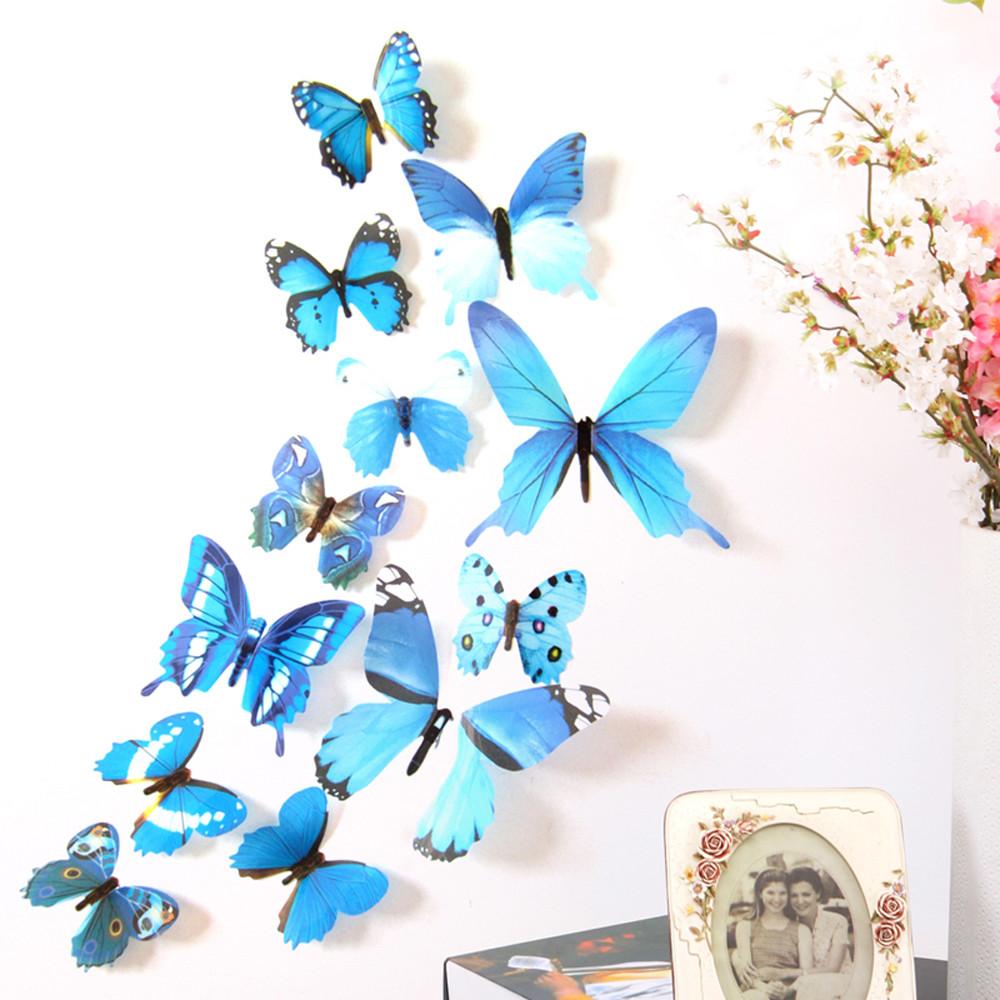 Шаблоны бабочек из бумаги для украшения интерьера - необычные идеи
