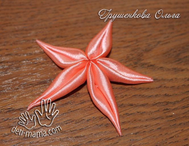 Звезда из георгиевской ленты. способы изготовления звезды из георгиевской ленты