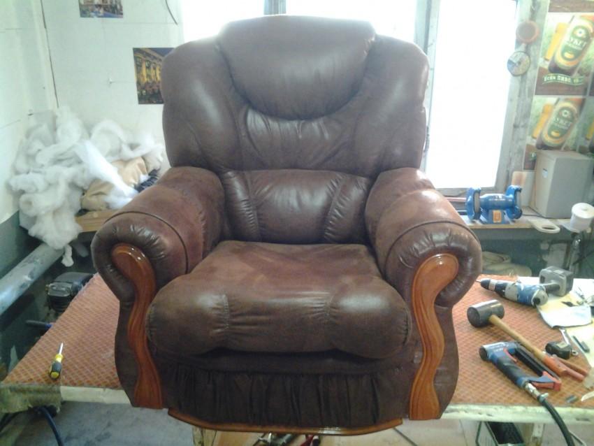 Реставрация кресла, инструменты, пошаговый алгоритм обновления, сборка