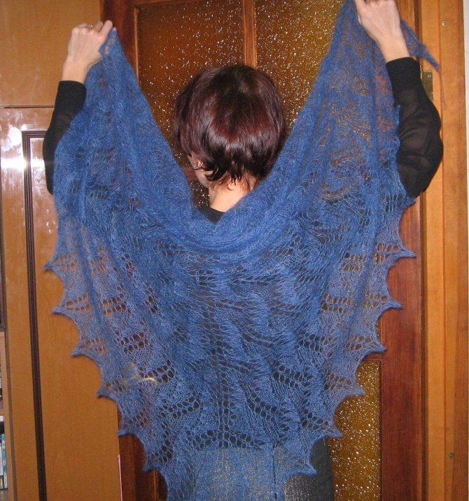 Вязаные спицами шарфы:105 моделей, схемы, узоры, описание