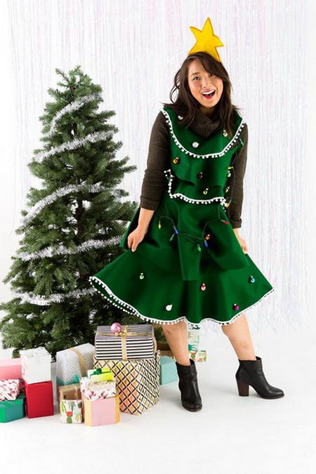 Как сделать костюм елочки для девочки на новый год своими руками? карнавальный костюм елочка для девочки из фатина: выкройка, мастер класс