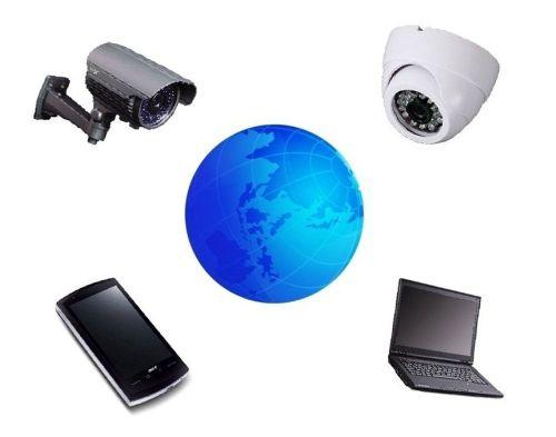 Видеокамера для видеонаблюдения с онлайн для дома с выводом на телефон