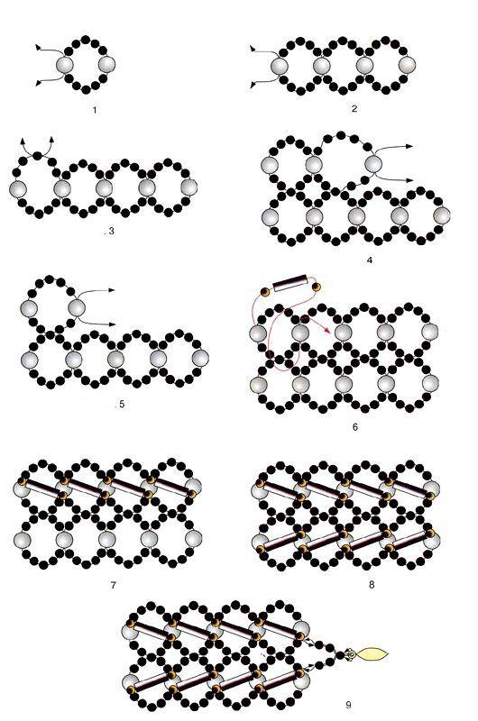 Браслеты из бисера - обзоры лучших вариантов самодельных браслетов из бисера. инструкция по изготовлению своими руками + фото готовых работ