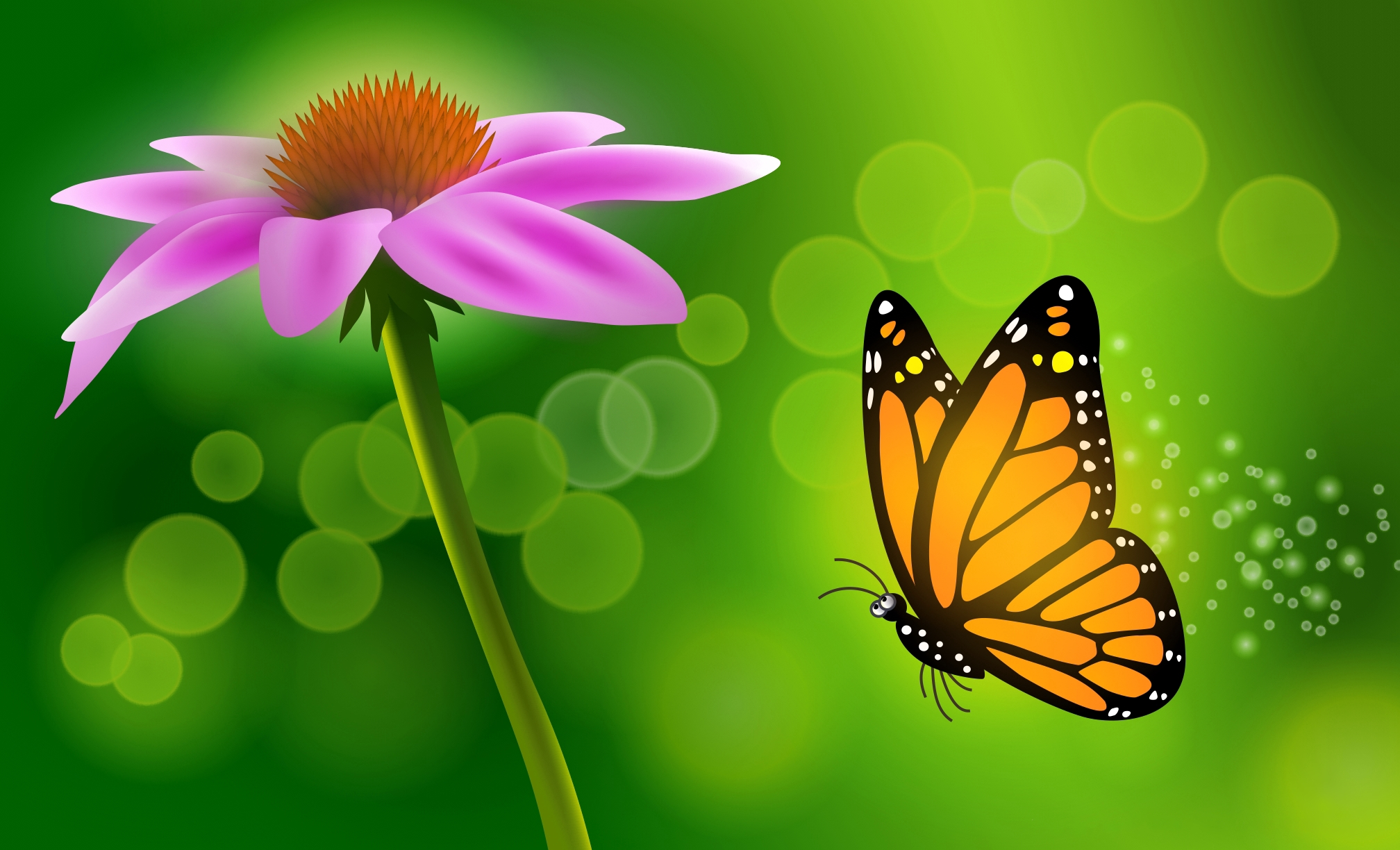 Как сделать красивую открытку бабочку на 8 марта