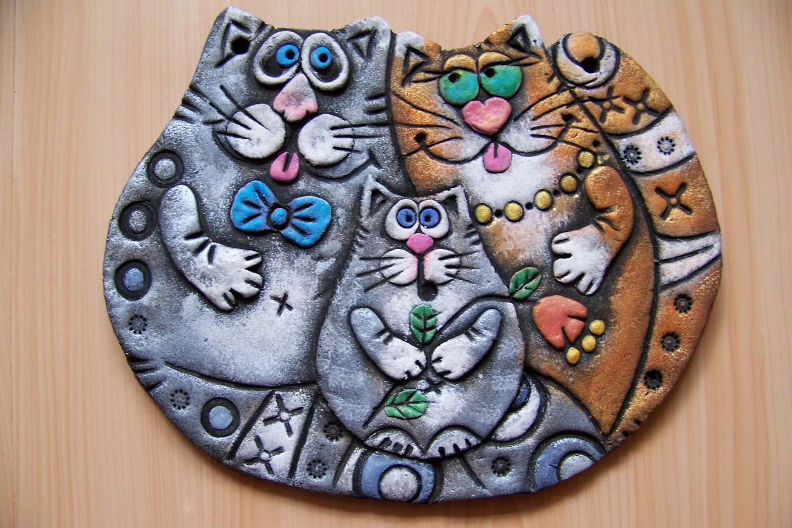 Лепка из соленого теста котики. коты из солёного теста своими руками. что нам понадобится