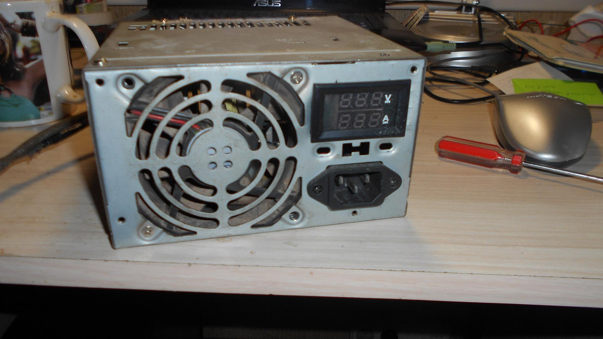 Зарядное устройство из блока питания ноутбука или компьютера