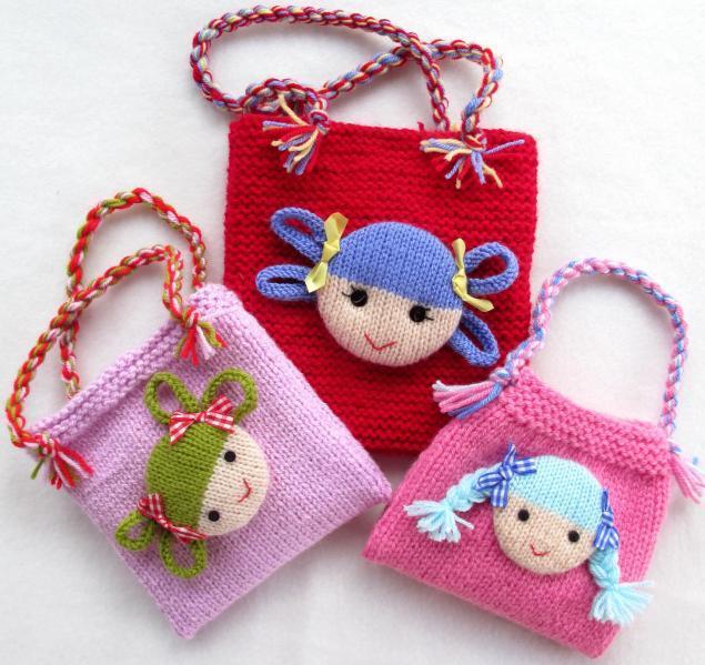 Детская сумочка крючком. мастер-класс (много пошаговых фото) - вязание - страна мам