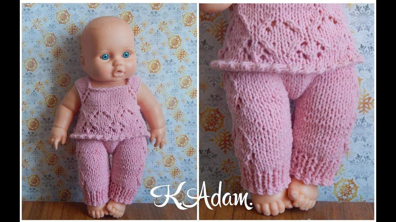 Комплект для пупса 22 см - гардероб для куклы - страна мам