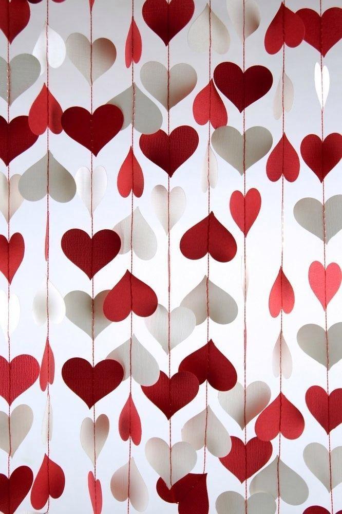 Сердце из картона ко дню святого валентина - самоделкин