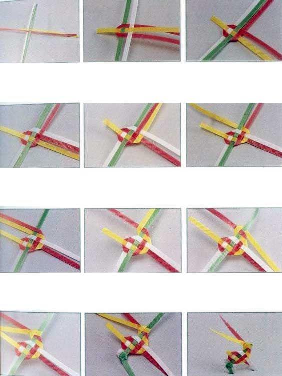 Плетение браслетов из цветных трубочек: стильная технология
