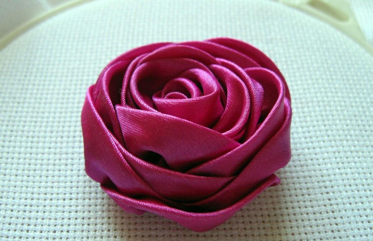 Розы из ткани сделать самому своими руками: мастер-класс