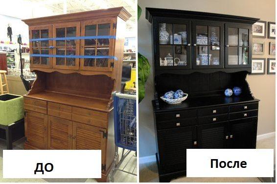 Переделка старой мебели своими руками: до и после - iloveremont.ru
