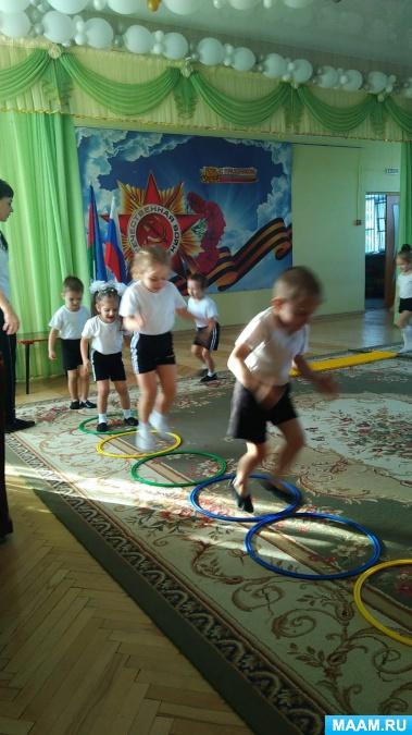 Досуг для детей средней группы «знакомство с солнечным зайчиком»