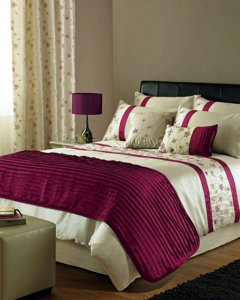 Современные варианты покрывал для кровати в спальне, советы дизайнеров
