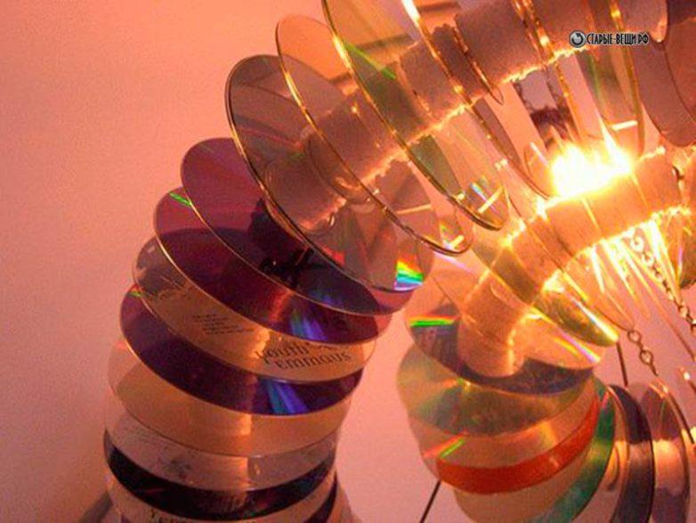 Шарики из CD дисков