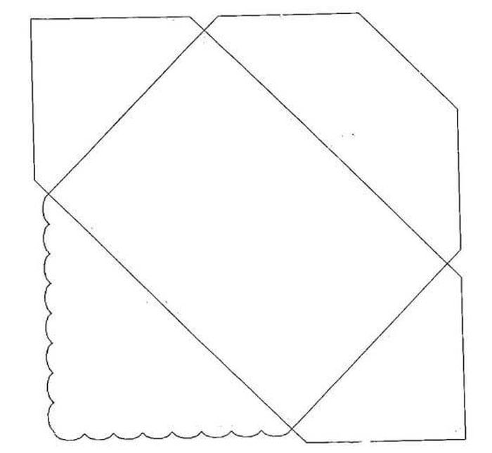 Как сделать конверт из бумаги а4 своими руками для письма
