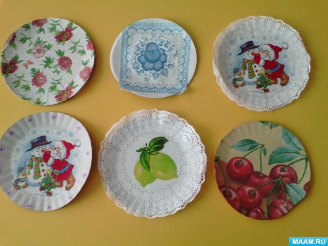 Декупаж тарелки: 85 фото, мастер-класс и рекомендации по оформлению