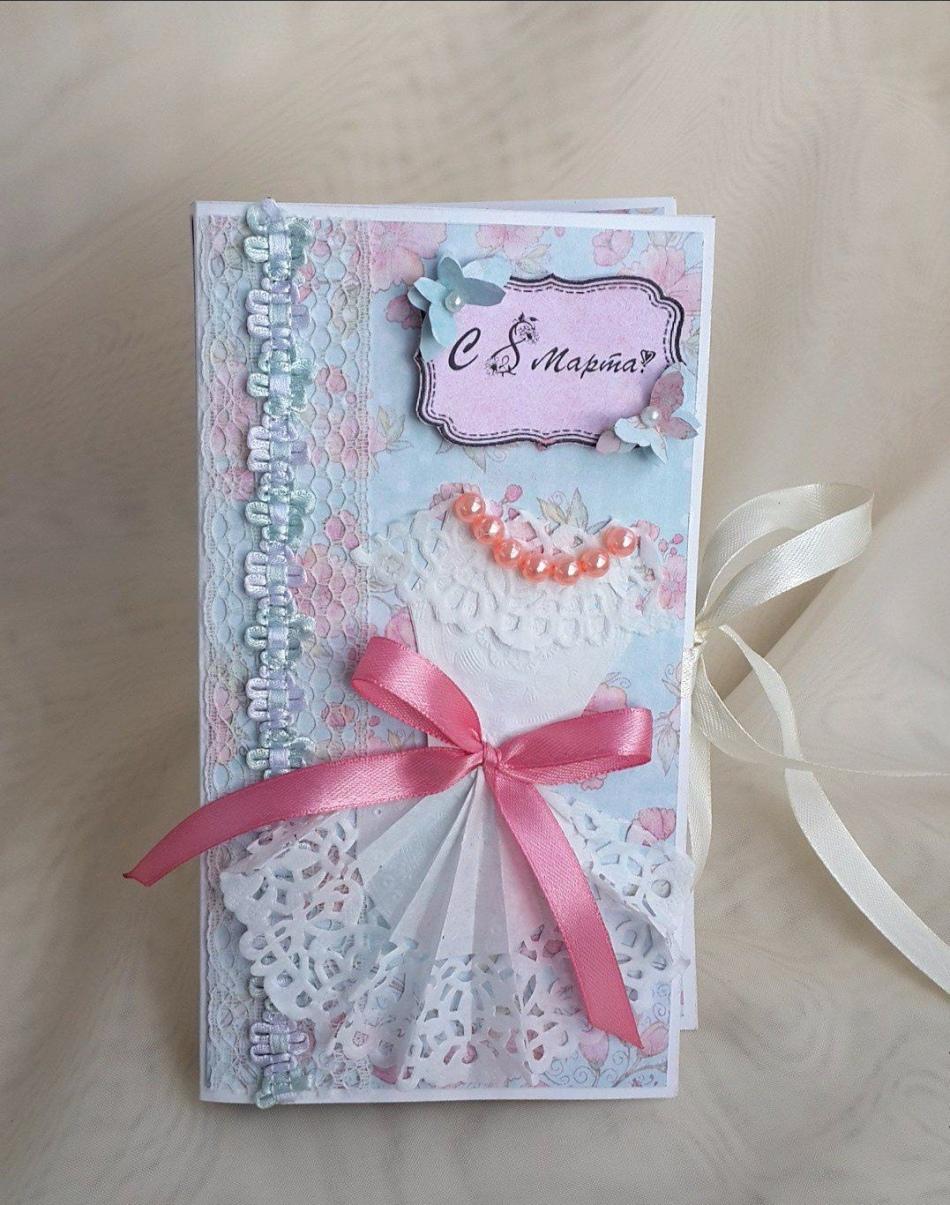 Открытка 8 марта аппликация бумагопластика квиллинг и вот еще к 8марта открытки шоколадницы часть 2 бумага картон картон гофрированный