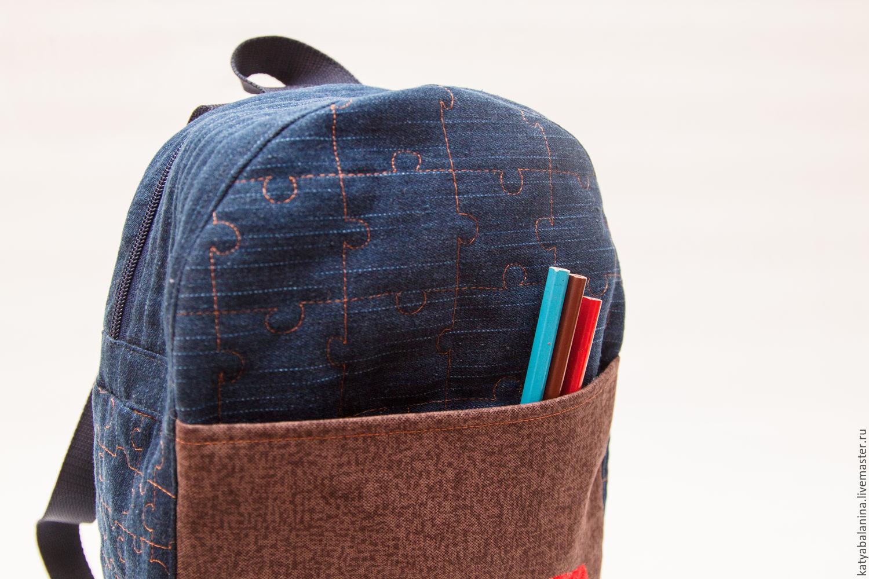Рюкзак из джинсов своими руками - делаем быстро и правильно модный рюкзак (115 фото)