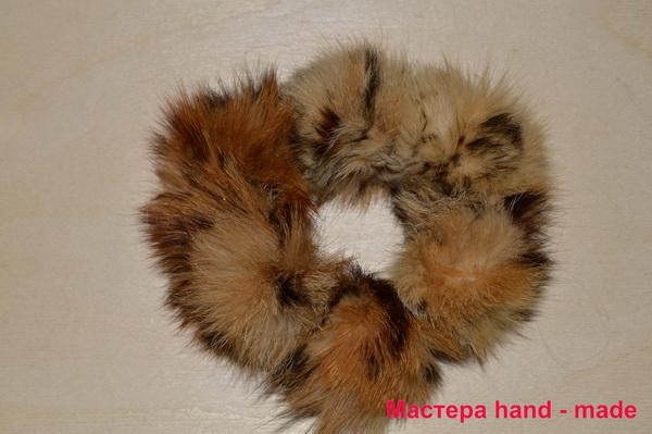 Резинка - цветок из кожи и меха. резинка для волос с мехом норки: мастер класс резинку из норки своими руками