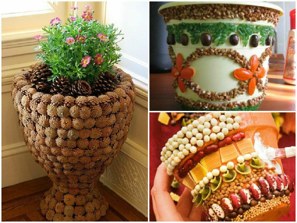 Как сделать горшки для цветов своими руками? 9 мастер-классов