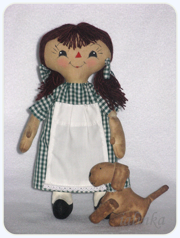 ᐉ тряпичная кукла алина - своими руками -