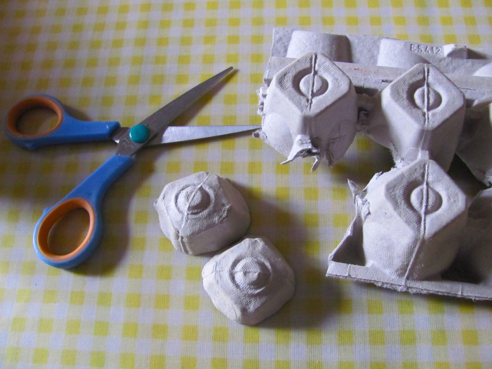 Поделки из яичных лотков: 95 фото идей как своими руками изготовить поделки из лотков для яиц