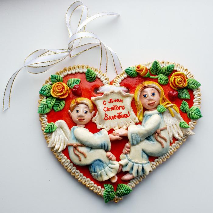 """Слойка """"шоколадные """"валентинки"""" – кулинарный рецепт"""