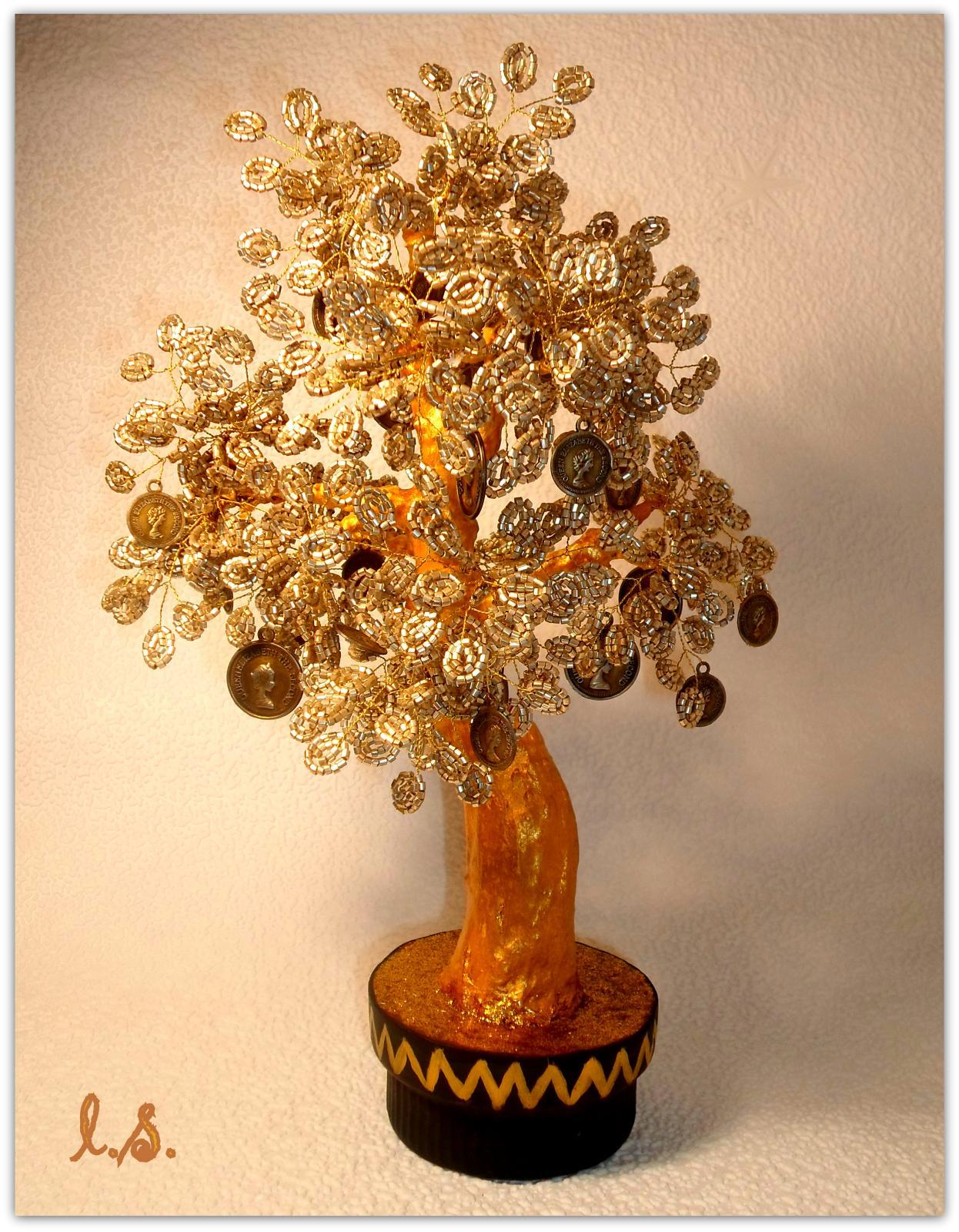 Как сделать дерево из бисера своими руками? дерево из бисера мастер-класс с пошаговым фото