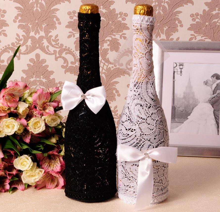 Как украсить шампанское на свадьбу своими руками: идеи и пошаговый мастер-класс   lisa.ru