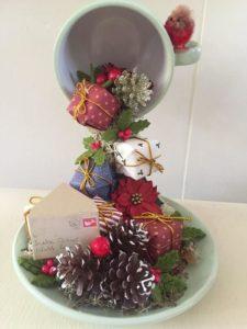 Кружка с цветами, мастер-класс по декорированию кружки