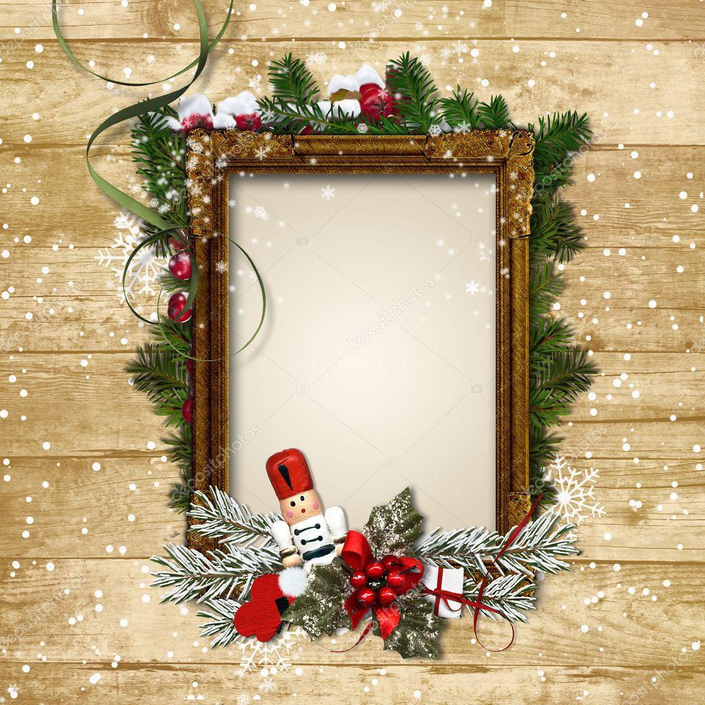 Как сделать новогоднюю фоторамку своими руками. рамка для фото в новогоднем стиле