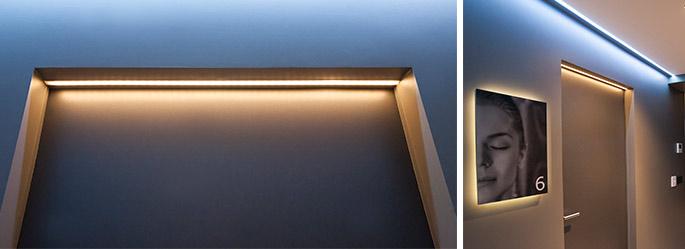 Фальш-окно с подсветкой – виды конструкций их использование