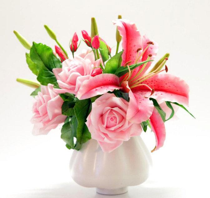 Керамическая флористика: искусство создавать цветы из полимерной глины и холодного фарфора