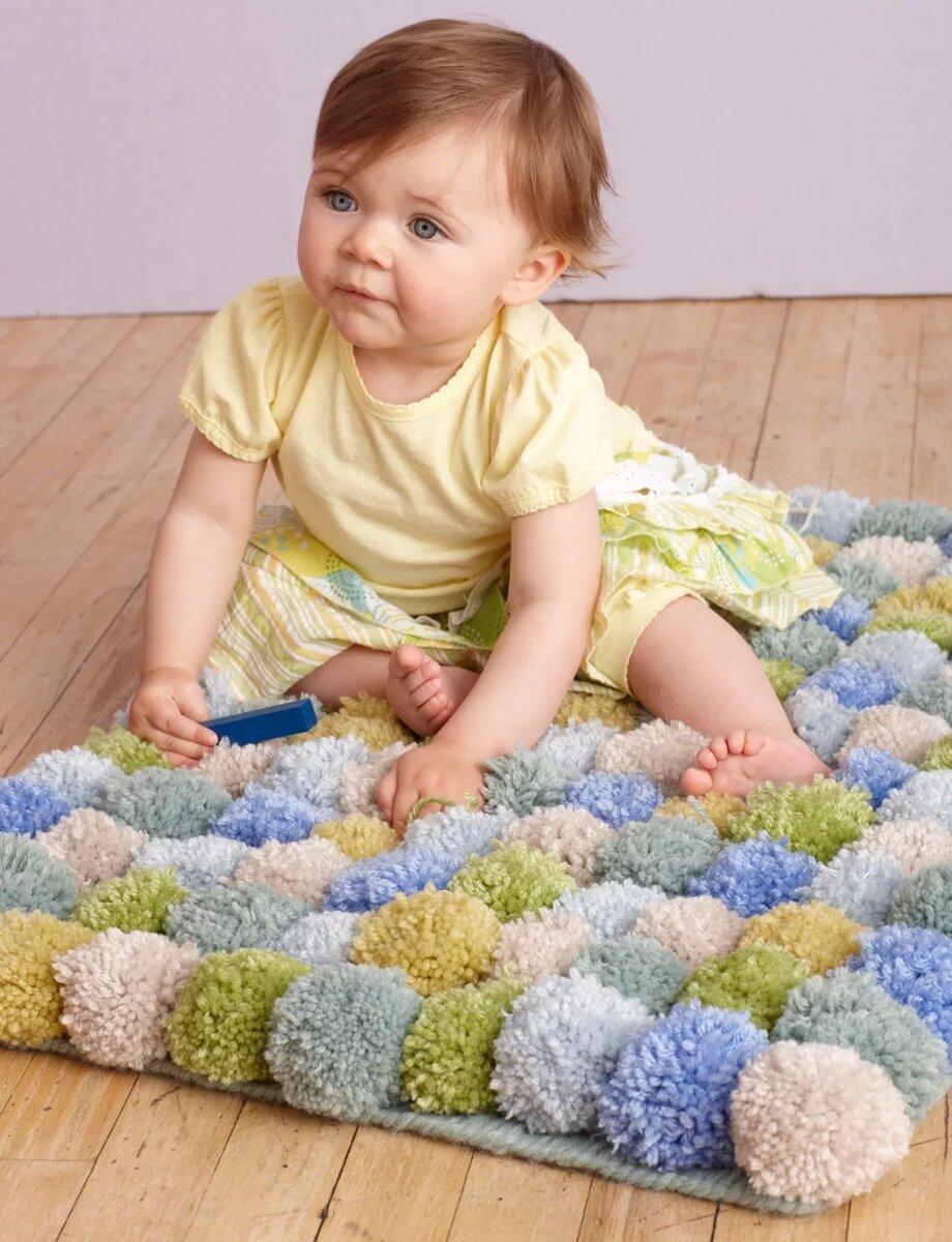 ? домашний уют своими руками: мастер-классы по изготовлению разнообразных ковриков из помпонов