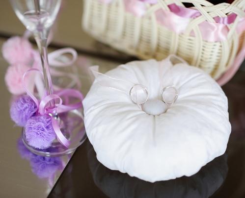 Подушка для колец на свадьбу своими руками