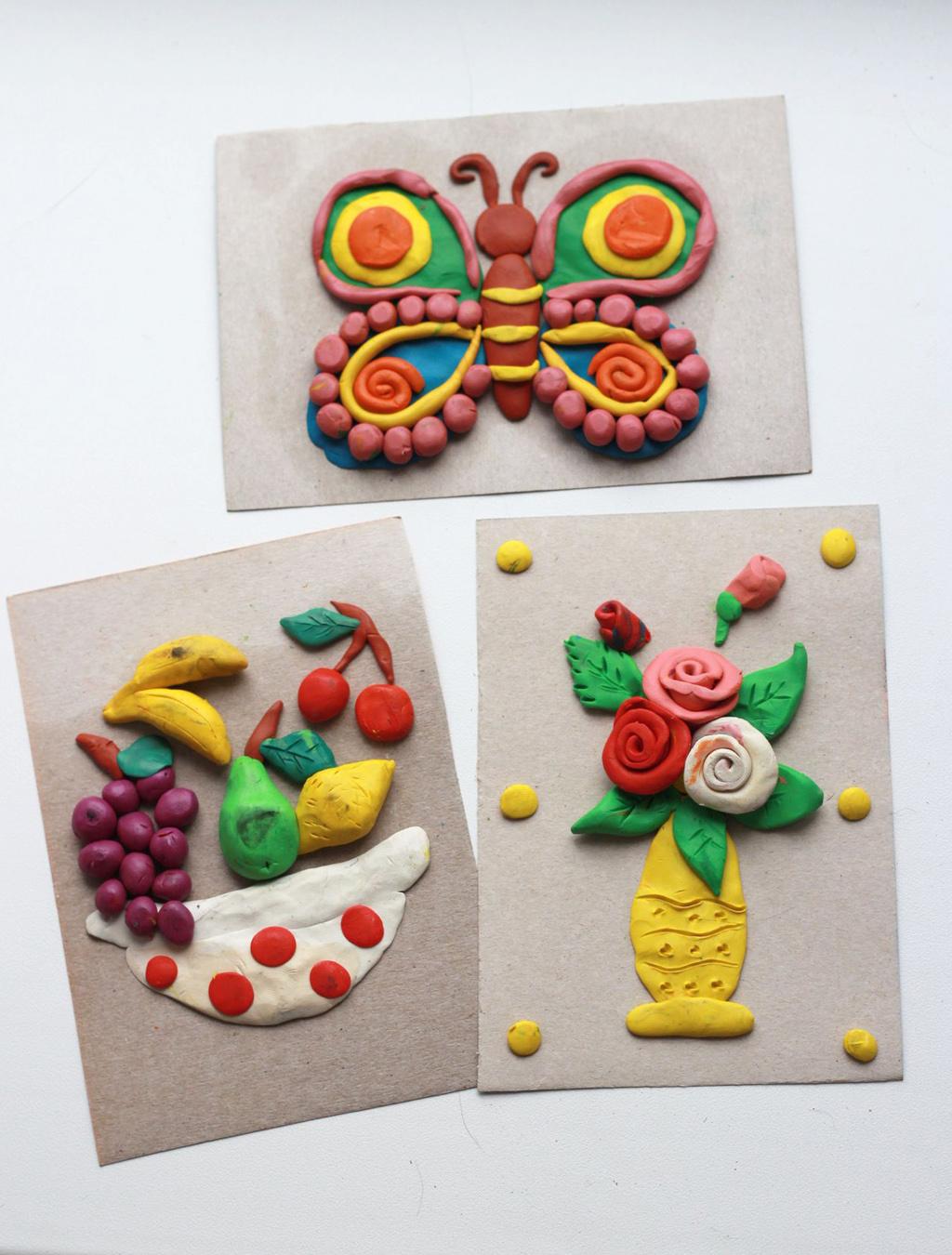 Картинки из пластилина: лучшие идеи и уроки для любого возраста