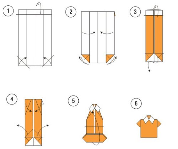 Поделка рубашка: пошаговая инструкция как сделать своими руками стильную поделку из бумаги (95 фото)