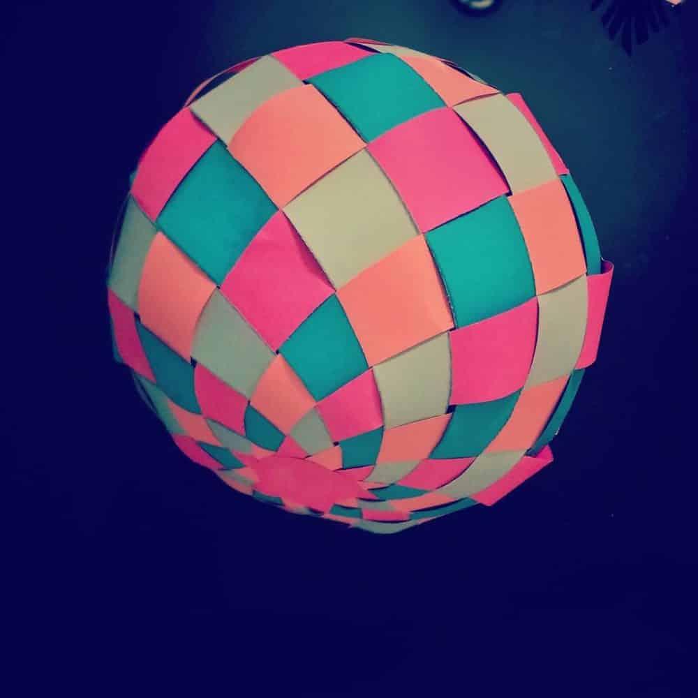 Бумажный шар своими руками – шары из бумаги своими руками – резной палисад — центр народных художественных промыслов и ремесел