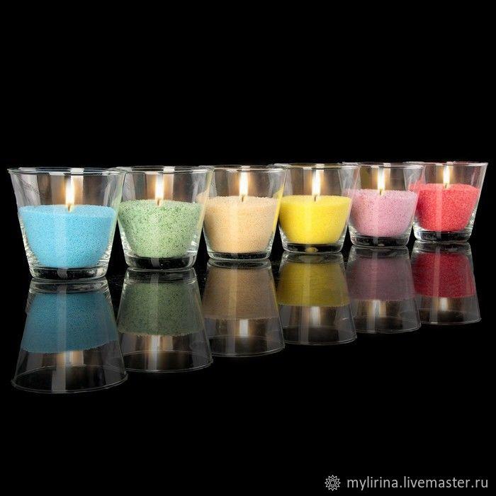 Как сделать декоративные свечи своими руками