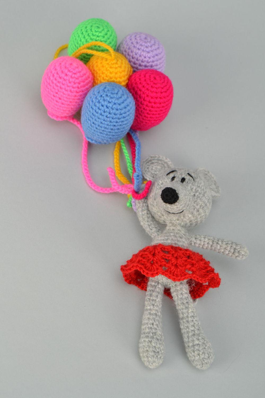 Видео мастер-класс вязание крючком воздушный шарик крючком/как связать воздушный шарик крючком проволока пряжа