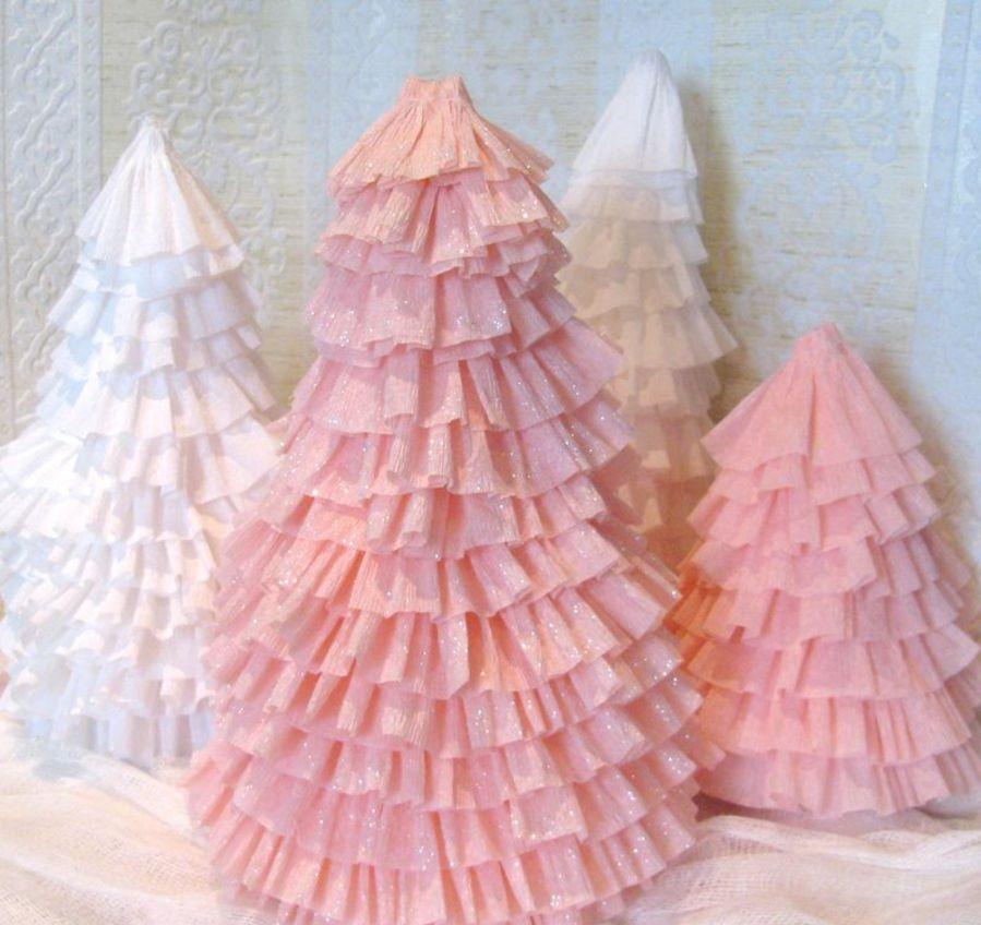 Как сделать елку из гофрированной бумаги своими руками?