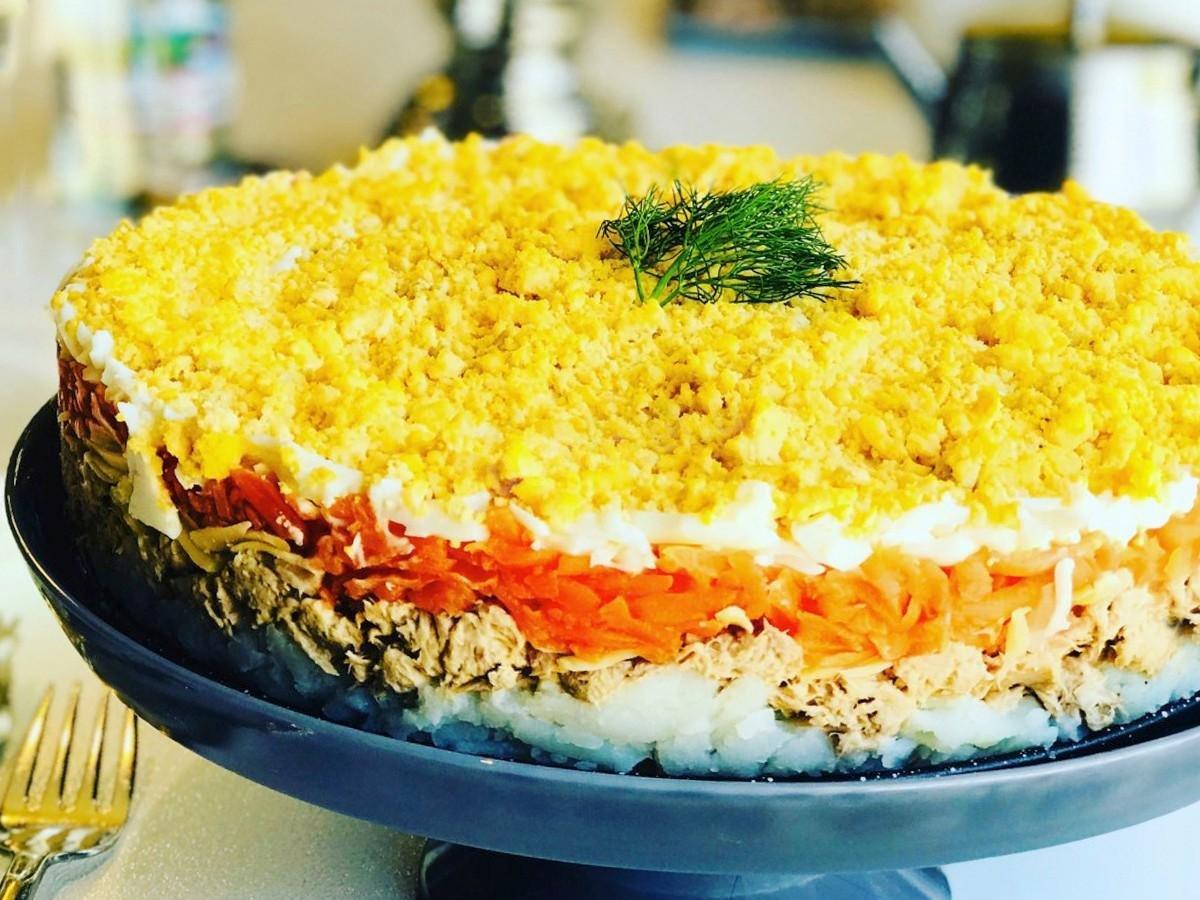 Салат мимоза по новому - 5 необычных рецептов этого блюда