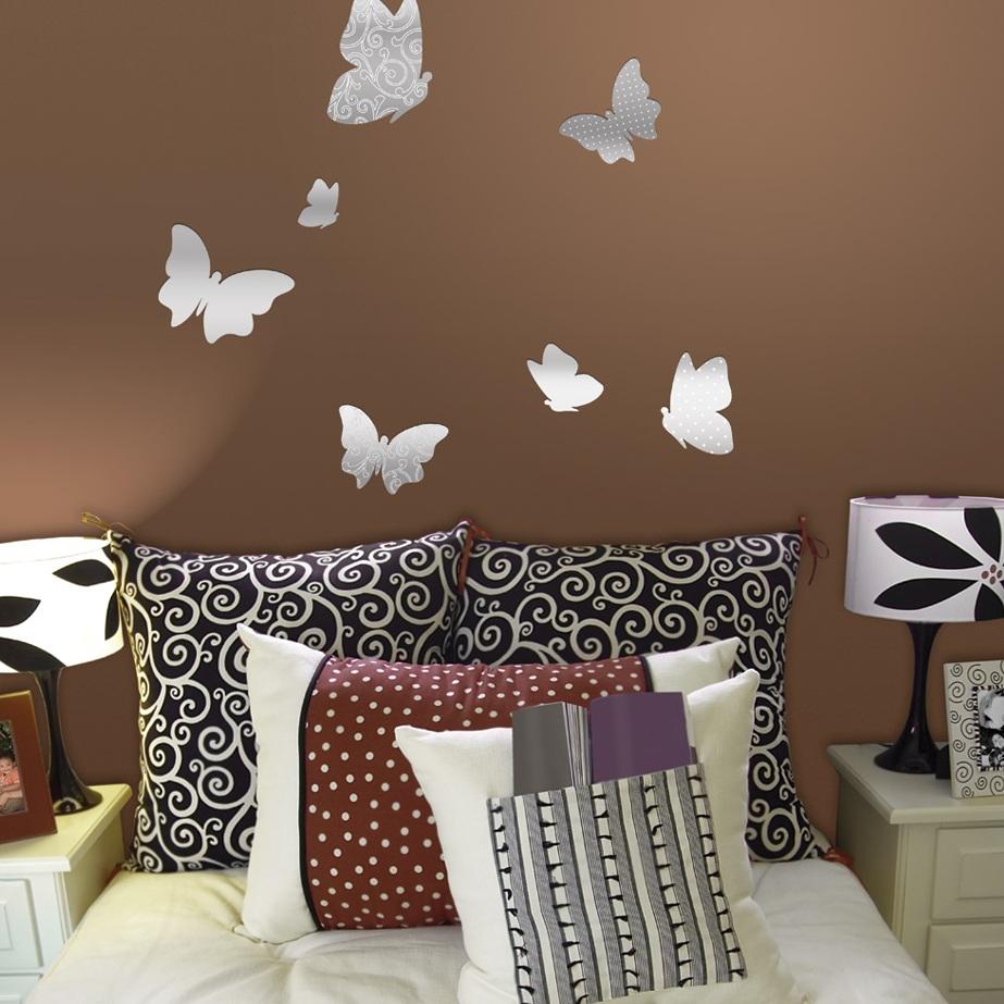 Бабочки на стену — идеи декора и правила оформления при помощи бабочек (100 фото лучших идей)